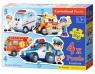 Puzzle Konturowe 4w1 Rescue Services (04393)