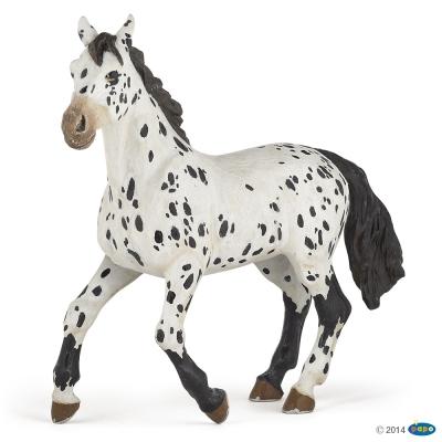 Papo Czarny koń rasy Appaloosa (51539)