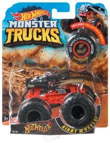 Hot Wheels Monster Trucks: Pojazd 1:64 (FYJ44)