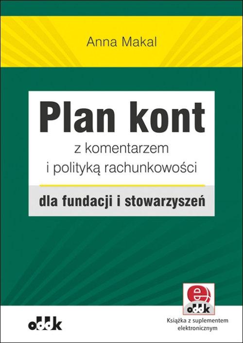 Plan kont z komentarzem i polityką rachunkowości dla fundacji i stowarzyszeń Makal Anna