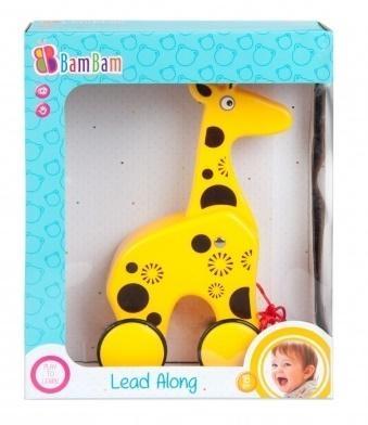 Żyrafa na kółkach
