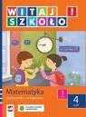Witaj szkoło 1 Matematyka podręcznik z ćwiczeniami część 4