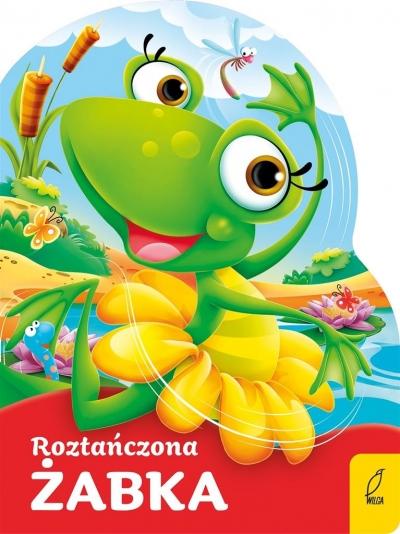 Roztańczona żabka Wykrojnik