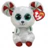 Beanie Boos: Chimney - maskotka Świąteczna Mysz, 15cm (36239)