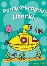 Literki Łódź podwodna Połącz Kropki