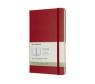 Kalendarz tygodniowy Moleskine 12M L, twarda oprawa, czerwony szkarłatny