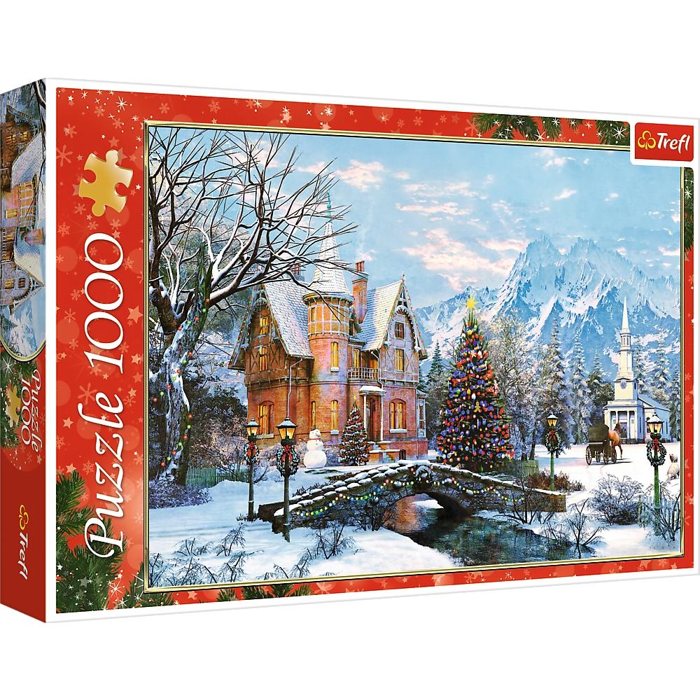 Puzzle 1000: Zimowy krajobraz (10439)
