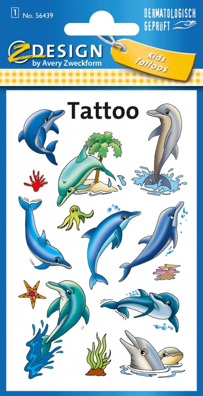 Tatuaże - Delfiny (56439)
