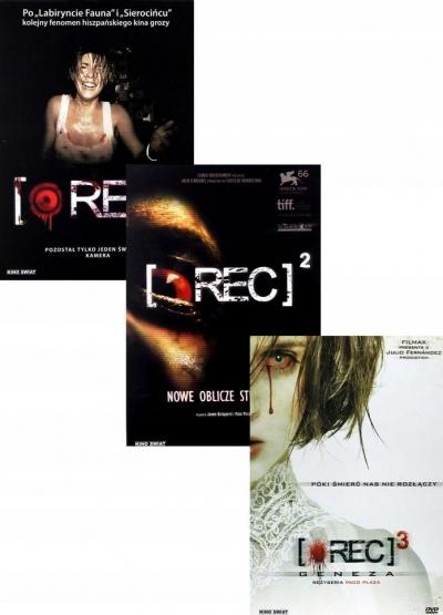 Pakiet: Rec (3 DVD) praca zbiorowa