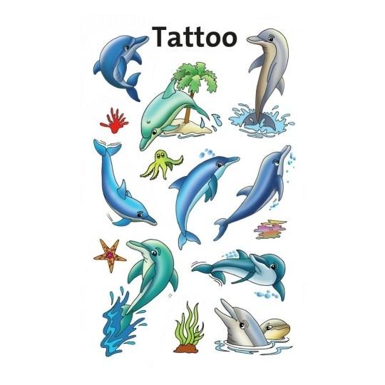 Tatuaże dla dzieci - delfinki (56439)