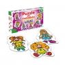 Puzzle dla maluszków: Lalki (0539)