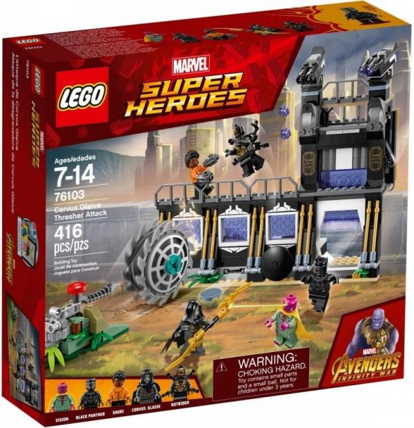 Lego Marvel Super Heroes: Atak Corvusa Glaiv'a (76103)
