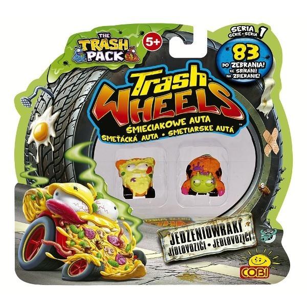 TRASH PACK Trash wheels 2-pak