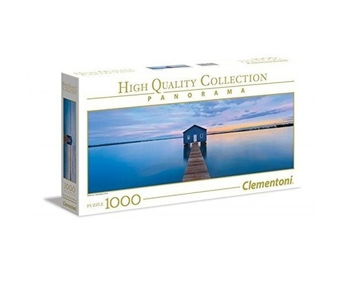 Puzzle 1000 High Quality Collection: Panorama Blue calm (39439)