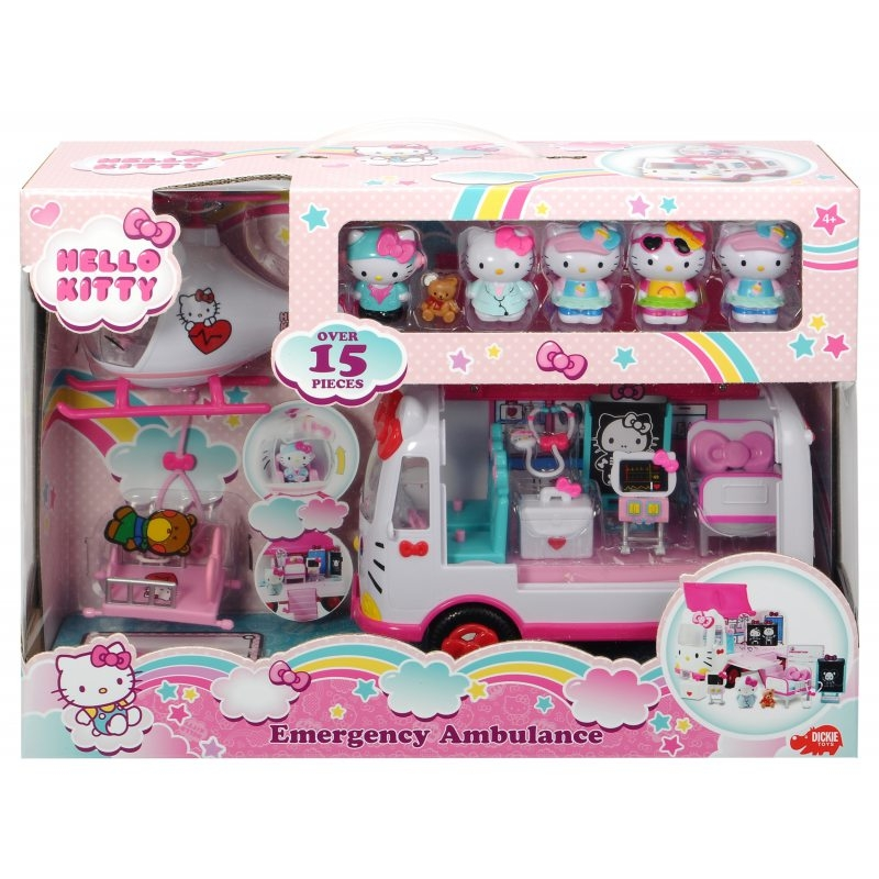Ambulans ratunkowy Hello Kitty