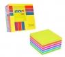 Notes samoprzylepny kostka mix 7 kolorów neon i pastel