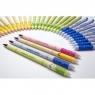 Usuwalny długopis żelowy w kolorowej obudowie, mix