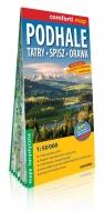 Podhale Tatry Spisz Orawa laminowana mapa turystyczna 1:50 000