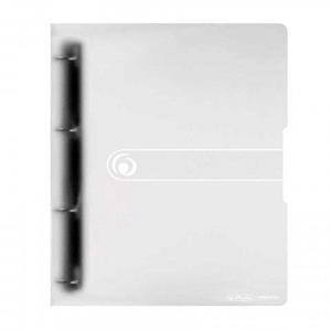 Segregator A4 PP 4R 1,6cm biały transparentny