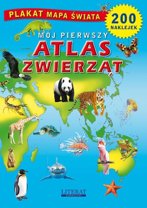 Mój pierwszy atlas zwierząt Guzowska Beata