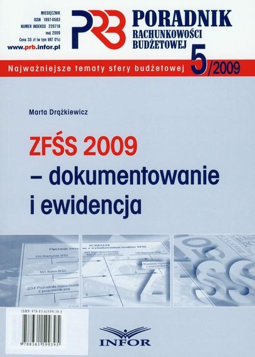 Poradnik rachunkowości budżetowej 2009/05 ZFŚS 2009 Drążkiewicz Marta