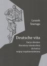 Deutsche vita Zarys dziejów literatury niemieckiej do końca wojny Szaruga Leszek