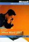 Microsoft Office Word 2007: Egzamin 77-601 z płytą CD