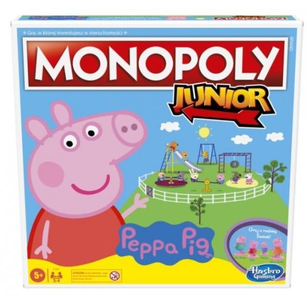 Monopoly Junior Świnka Peppa (F1656)