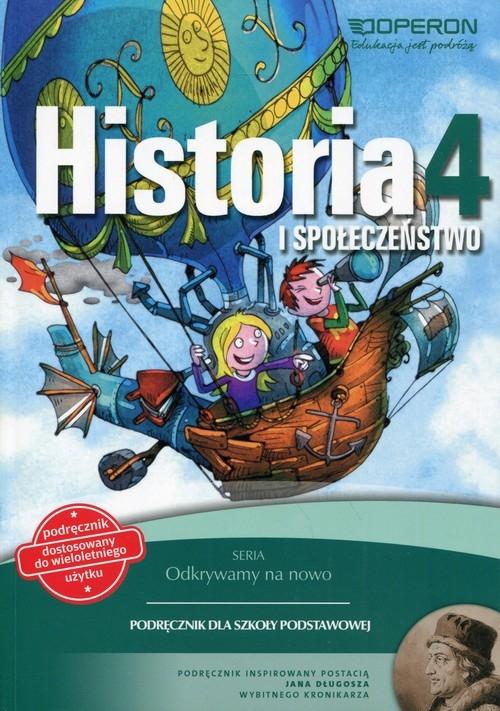 Odkrywamy na nowo Historia i społeczeństwo 4 Podręcznik wieloletni Antosik Renata