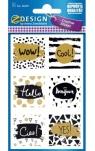 Naklejki papierowe - slogany (56039)