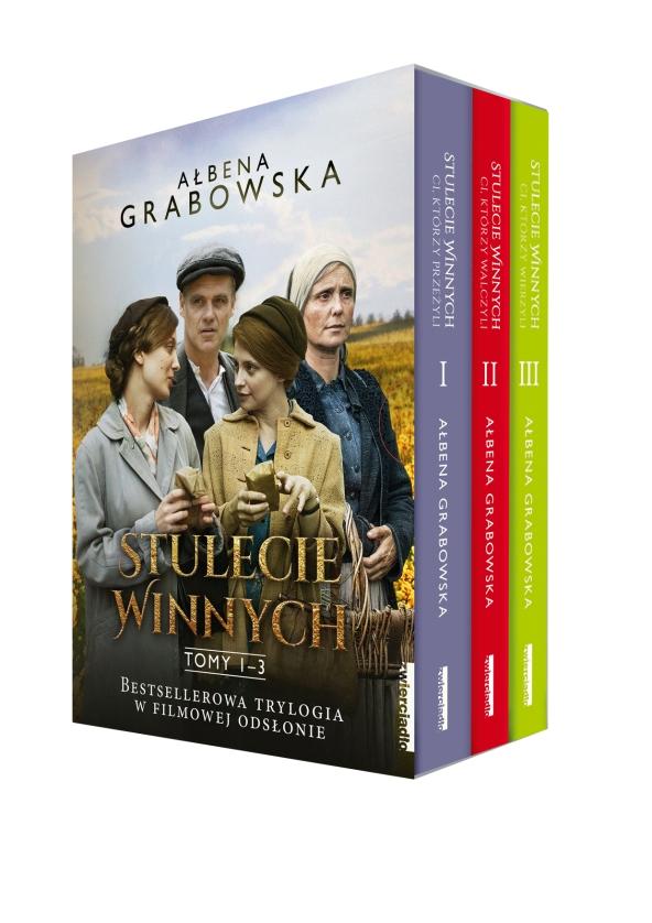 Stulecie Winnych Tom 1-3 Grabowska Ałbena