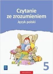 J.Polski  SP 5 Czytanie ze zrozumieniem WSiP Beata Surdej, Andrzej Surdej