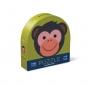 Puzzle dwustronne - Małpka i przyjaciele