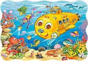 Puzzle 30 Happy Submarine (03396) praca zbiorowa