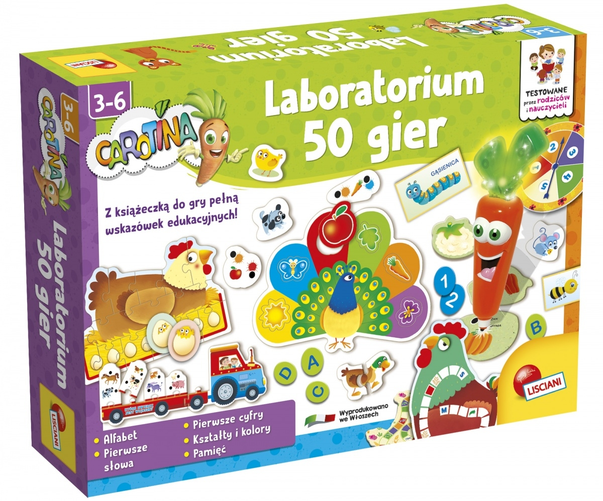Carotina - Laboratorium 50 gier (304-P45396)