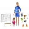 Barbie: Lalka Barbie - trenerka piłki nożnej (GLM47)