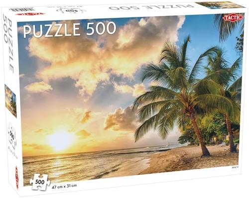 Puzzle Plaża 500 el /56739/