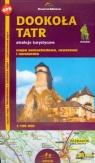 Dookoła Tatr atrakcje turystyczne 1: 100 000