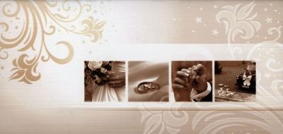 Karnet Ślub DL S22 S22