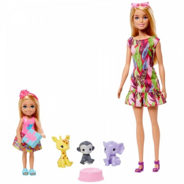 Lalka Barbie i Chelsea Zestaw historyjka GTM82 (GTM82)