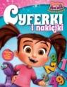 Kasia & Mim - Mim Mądre zabawy książka literki i naklejki 2/2017