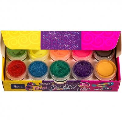 Farby plakatowe Tetis kolor: mix 20 ml 10 kol. (KF004-C)