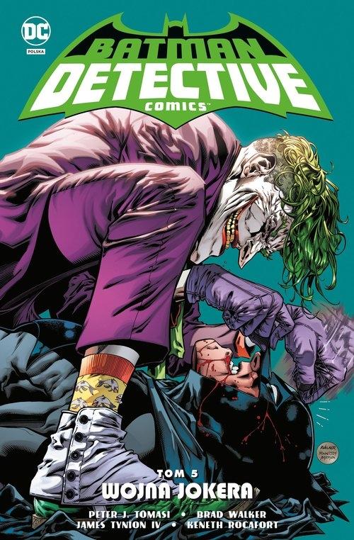 Batman Detective Comics: Wojna Jokera. Tom 5 (Uszkodzona okładka) Opracowanie zbiorowe