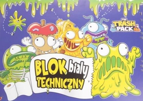 Blok techniczny A4 10 kartek biały