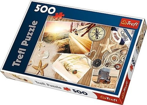 Puzzle Witamy na pokładzie 500 elementów (37239)