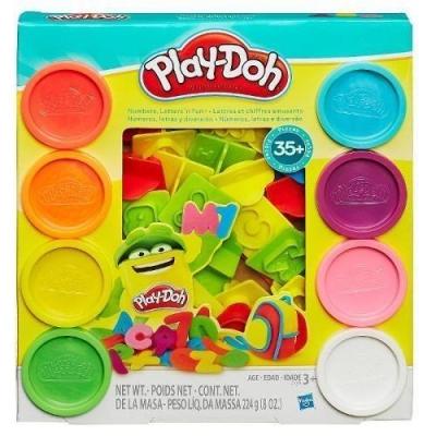 Play Doh Literki i Cyferki