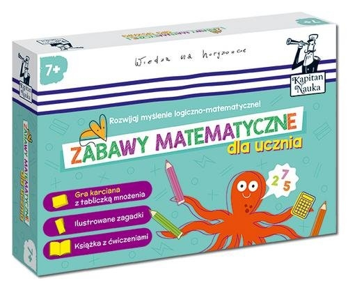 Kapitan Nauka. Zabawy matematyczne dla ucznia