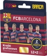 Kredki grafionowe 12 kolorów FC Barcelona