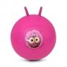 Piłka skacząca Little Owl 60cm różowa (922739)
