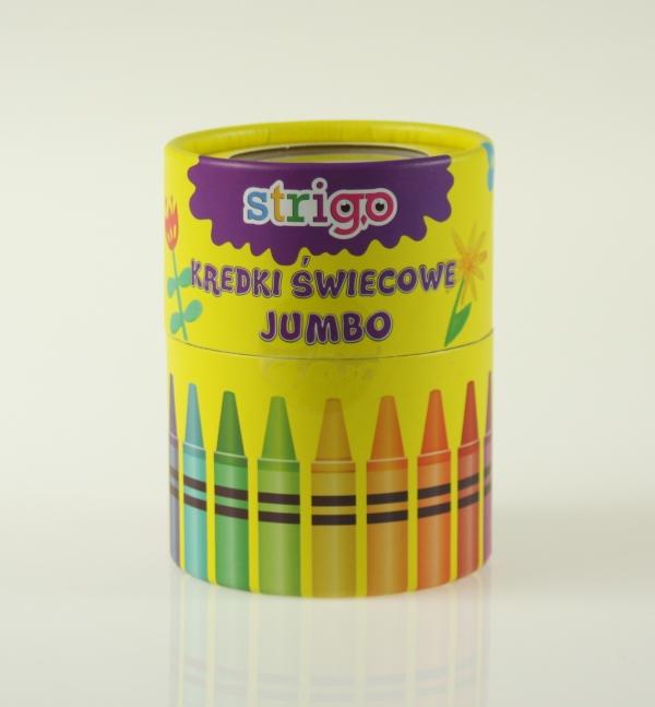 Kredki świecowe JUMBO 36 kolorów (SSC026)